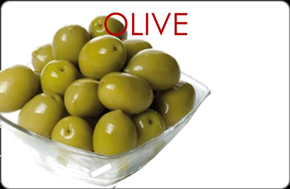 pulsante olive
